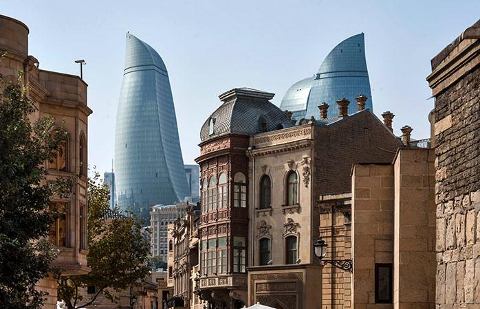 Le Flame Towers, tra i punti forti del turismo dell'Azerbaigian