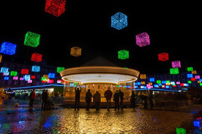 Un salto a Madrid per un mercatino di Natale pieno di colori
