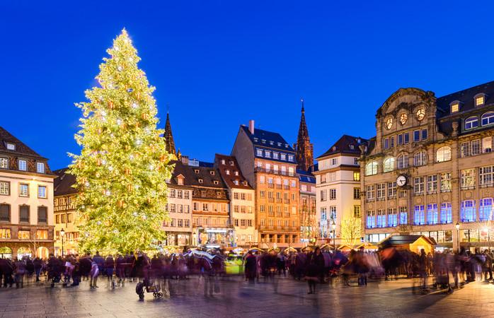 I francesi sanno come organizzare uno stupendo mercatino di Natale
