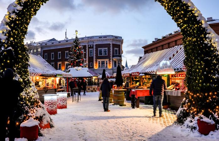 Il mercatino di Natale di Riga si trova in un Sito Patrimonio dell'Umanità UNESCO