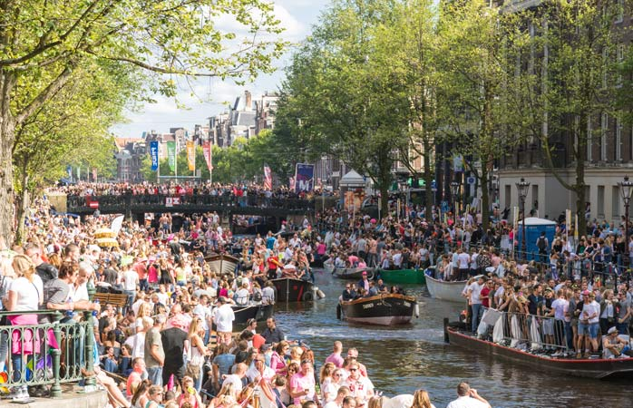 Unisciti alla festa ad Amsterdam!