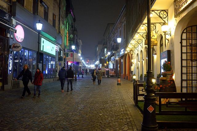 La suggestiva Bucarest a dicembre