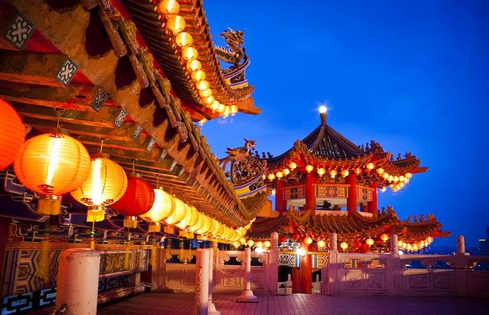 Il tempio di Thean Hou a Kuala Lumpur, dove modernità e tradizione si mischiano
