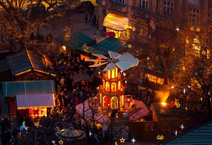 Tradizionale mercatino di Natale a Monaco