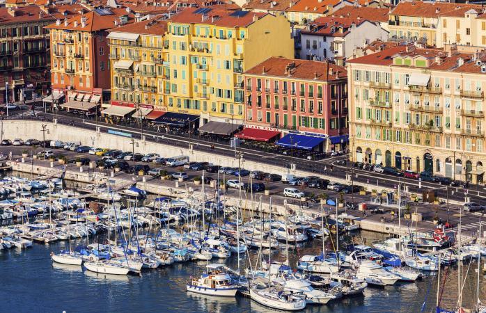 Nizza, Costa Azzurra, Francia.
