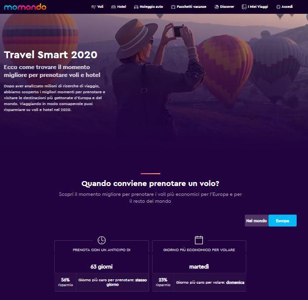 Travel Smart di momondo
